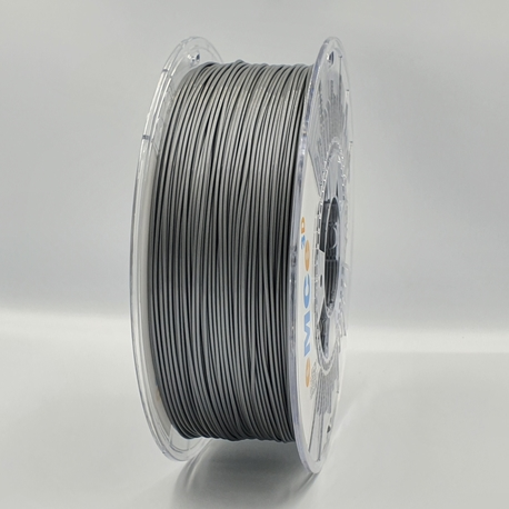 Filament eMCe3D PET-G 1,75mm, Srebrny 1kg (1)